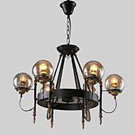 40W Lysestager ,  Tradisjonell / Klassisk / Rustikt/hytte / Vintage / Kontor/Business / Rustik Maleri Feature for Ministil MetalStue /