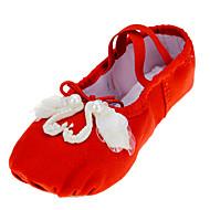 Na míru-Dětské-Taneční boty-Balet-Látka-Rovná podrážka-Černá / Červená / Bílá / Jiná