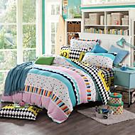 High quality Print Bedlinen Fleece winter bedding set queen king size soft bedsheet pillowcase Duvet cover 4pcs bed set