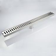 """ניקוז / ניקל מוברש / אחר /60cm*7cm*(24""""*2.8"""") /פלדת אל חלד /מודרני /60cm(24"""") 7CM(2.8"""") 1.1KG"""
