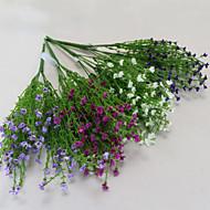 1 1 Větev Polyester Dětský dech Květina na stůl Umělé květiny 40cm