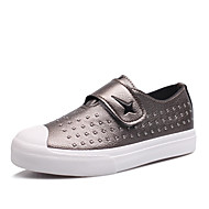 Girls' Shoes Outdoor / Athletic / Casual Faux Leather Flats Spring / Summer / Fall Comfort / Round Toe /Studded