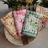 dvojitá tkanina z čisté bavlny žakárové velký medvědí o dítě ručník