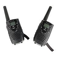 T667446B Walkie-talkie 0.5W 8 Channels 400-470 mHz AA alkaline battery 3-5 kmVOX / baggrundslys / Kryptering / Advarsel om lavt batteri /