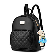 M.Plus® Women Fashion Korean Style Plaid Backpack