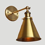 AC 100-240 40 E26/E27 Wiejskie Złoty Cecha for Zawiera żarówkę,Światło rozproszone Kinkiety Ścienne Światło ścienne