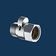 controllore riducendo il controllo del flusso in ottone pressione dell'acqua valvola manuale testa spruzzatore tenuto spento