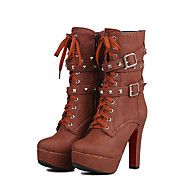 Women's Boots Spring / Fall / Winter Fashion Boots 16 Europe and the United States and sexy fashionof skin short boots