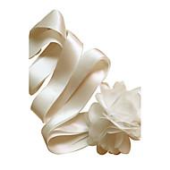 Satin Wedding / Party/ Evening / Dailywear Sash - Floral Women's Sashes