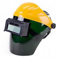 auto zamračenje maska za zavarivanje solarna gospodarstvo zavarivanje (solarno / litijska baterija napaja)