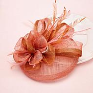 נשים נוצה טול כיסוי ראש-חתונה אירוע מיוחד קישוטי שיער חלק 1