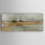 מצויר ביד L ו-scape ציורי שמן,מודרני פנל אחד בד ציור שמן צבוע-Hang For קישוט הבית