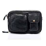 Unisex Kuhfell Alltag Hüfttasche
