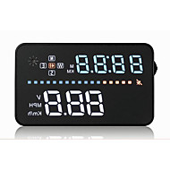 carro display head-se HUD built-in display gps tempo velocidade / satélite / km