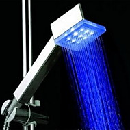 ברז למקלחת - עכשווי - LED - פלסטיק ABS סוג א' ( צביעה )