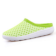 Men's Sandals Summer Tulle Casual Flat Heel Buckle Black Blue Yellow Green Water Shoes