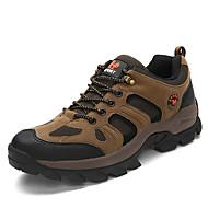 Herre-Tekstil-Flat hæl-Komfort-Sportssko-Fritid-Grønn Grå Kaki