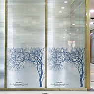 Window Film Window Decals Style Silver Birch Matte PVC Window Film - (60 x 58)cm