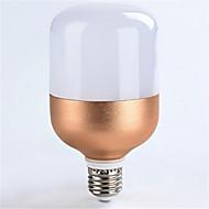 18ワットE27 1600lm温かいクールホワイト色はスポットライトグローブ照明を率いて(ac160-265v)金シェルをバラ