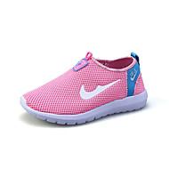 לבנים-נעלי ספורט-טול-נוחות-כחול / ירוק / ורוד / אפור / כחול ים-קז'ואל