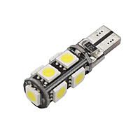 10x Canbus Wedge T10 White 192 168 194 W5W 9 5050 SMD LED Light Lamp Bulb Error Free 12V