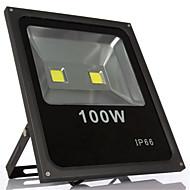 100w branco quente IP66 à prova d'água luz de inundação fresco levou levou luz (85-265V)
