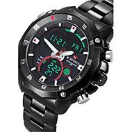 NAVIFORCE® Men's Military Sport Fashion Watch Japanese Quartz Analog-Digital LED/Calendar/Chronograph/Water Resistant/Dual Time Zones/Alarm Cool Watch