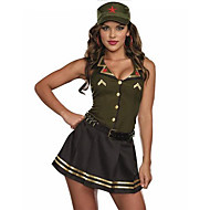 Women's Sexy Uniforms Pilot Skrit Cosplay Fancy Costume