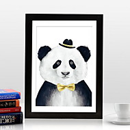 Large Wooden Hanging Wall Frame 18 Inch Puzzle Poster Mounted Frame (Random Color)
