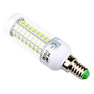 7.5 E14 / E26/E27 LED Corn Lights T 72 SMD 5730 960 lm Warm White / Natural White Decorative AC 220-240 V 1 pcs