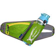 Pochete Bolsa de Ombro Cinto Porta-Garrafa Bolsa de cinto Bolsa Transversal para Ciclismo/Moto Corrida Bolsas para EsporteProva-de-Água