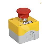 Not-Aus-Knopf-Box mit Notschalter Box 1 Loch Buttonbox Stopp-Taste.