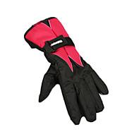 Cycling Gloves / Ski Gloves Winter Gloves Unisex Keep Warm / Waterproof Snowboarding Red Cotton / PU Free Size