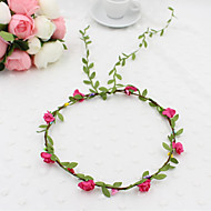 Women's Resin Headpiece-Wedding Wreaths 1 Piece  Flower