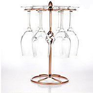 Red Wine Glass Rack Hanging Upside Down Cup Holder Hanging Goblets Wine Rack