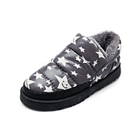 Women's Slippers & Flip-Flops Fall / Winter Snow Boots /  Comfort / Slippers / Round Toe / Flats LeatheretteOutdoor /