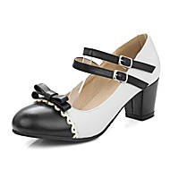 Women's Heels Spring / Summer / Fall / Winter Heels / Mary Jane / Round Toe Office & Career / Dress / Casual Chunky Heel