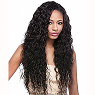 Glueless krajky přední lidský vlas paruky voda vlny nezpracované brazilský panenský lidský vlas paruku pro ženy