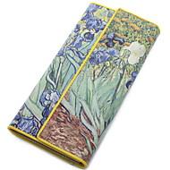 Fashion Women Genuine Leather Wallet Tri-fold Clutch Lady Purses Day Clutch Card Holders