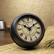 despertador do vintage com suspensão e ficar formas duais