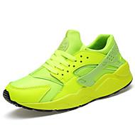 Sneakers-Stof-Komfort-Unisex-Sort / Grøn / Rød / Hvid-Hverdag-Flad hæl