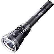 Nitecore® LED svítilny LED 1000 Lumenů 4.0 Režim Cree XM-L2 T6 18650 / CR123AStmívatelná / Voděodolný / Dobíjecí / Odolný proti nárazům /