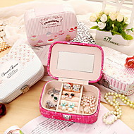 Jewelry Boxes Leather 1pc White