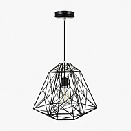 60 Pendant Light ,  Vintage Retro Painting Feature for Mini Style Metal Living Room Bedroom Dining Room Entry Hallway Garage