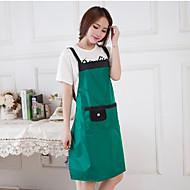 avental cor única para prevenir a cozinha sujeira gordurosa cor aleatória