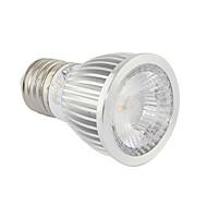 5 E26/E27 Lâmpadas de Foco de LED A60(A19) 1 COB 400 lm Branco Quente / Branco Frio DecorativaAC 85-265 / AC 220-240 / AC 100-240 / AC