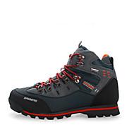 Herren-Sneaker-Lässig-Wildleder-Flacher Absatz-Komfort / Rundeschuh-Schwarz und Rot