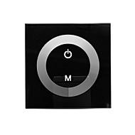 TM06 LED לוח המגע דימר לצבע יחיד LED הרצועה (DC12-24V, ערוץ פלט 8A 1)