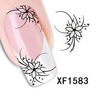 моды новые наклейки передачи стиль вода 1 листов 3d дизайн поделок ногтей искусство украшения ногтей наклейки для ногтей наклейке