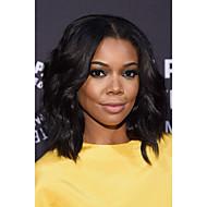 kurze Bob natürliche Welle synthetische Haarperücken natürliche schwarze hitzebeständige Spitze Front Perücken für schwarze Frauen